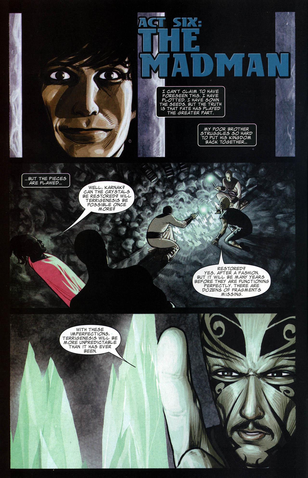 Read online Silent War comic -  Issue #6 - 3