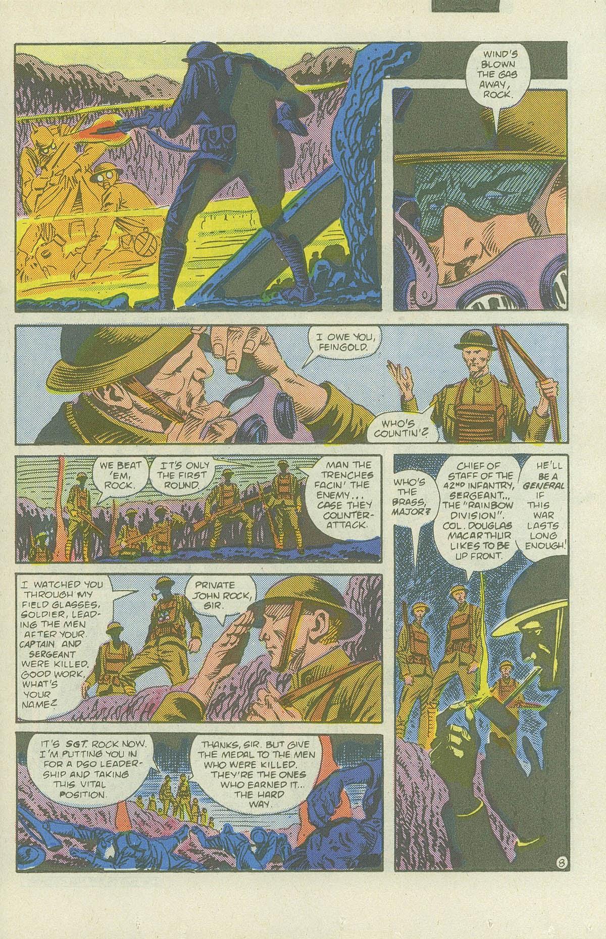 Read online Sgt. Rock comic -  Issue #419 - 10