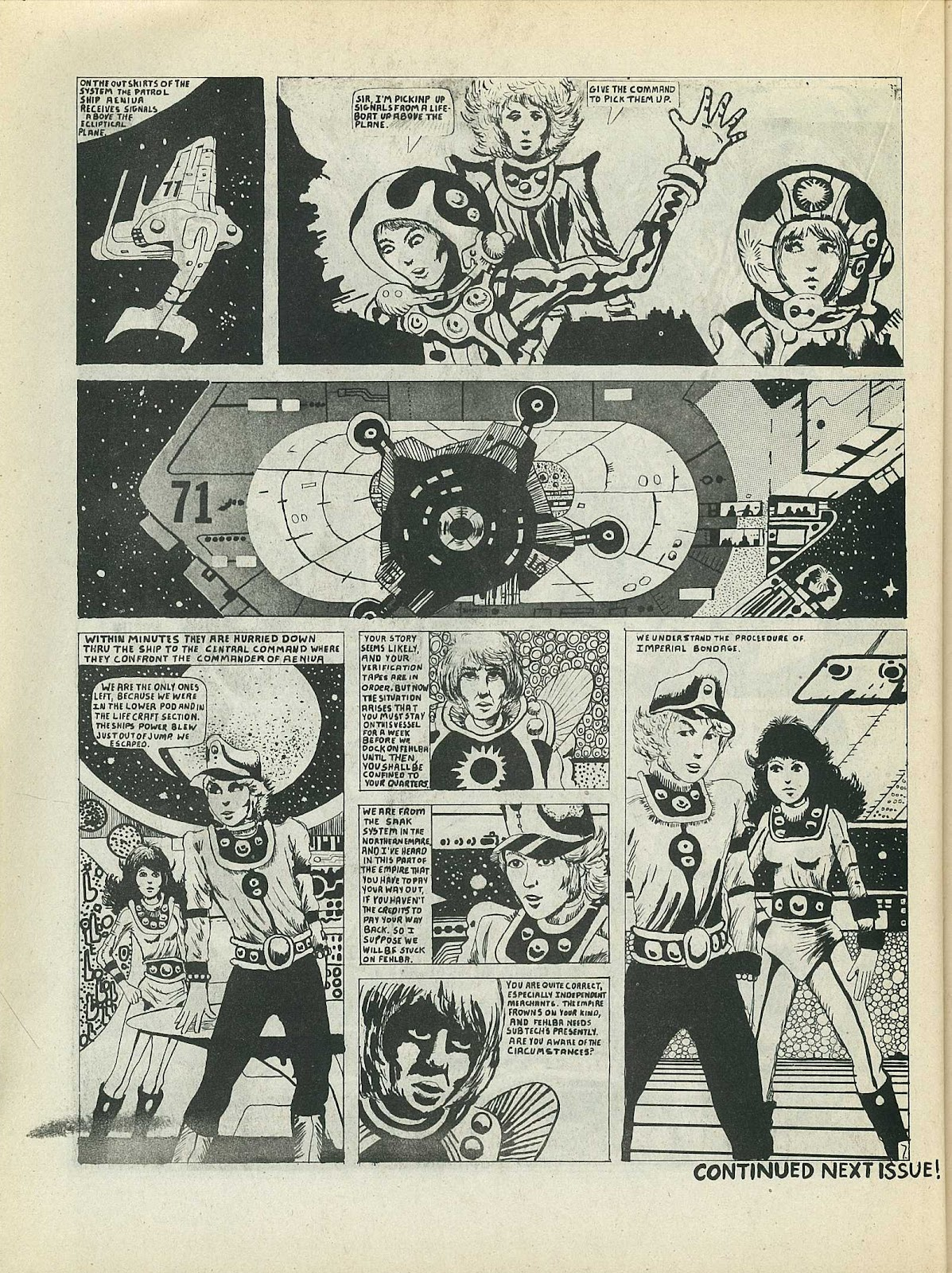 Star Fighters issue 3 - Page 34