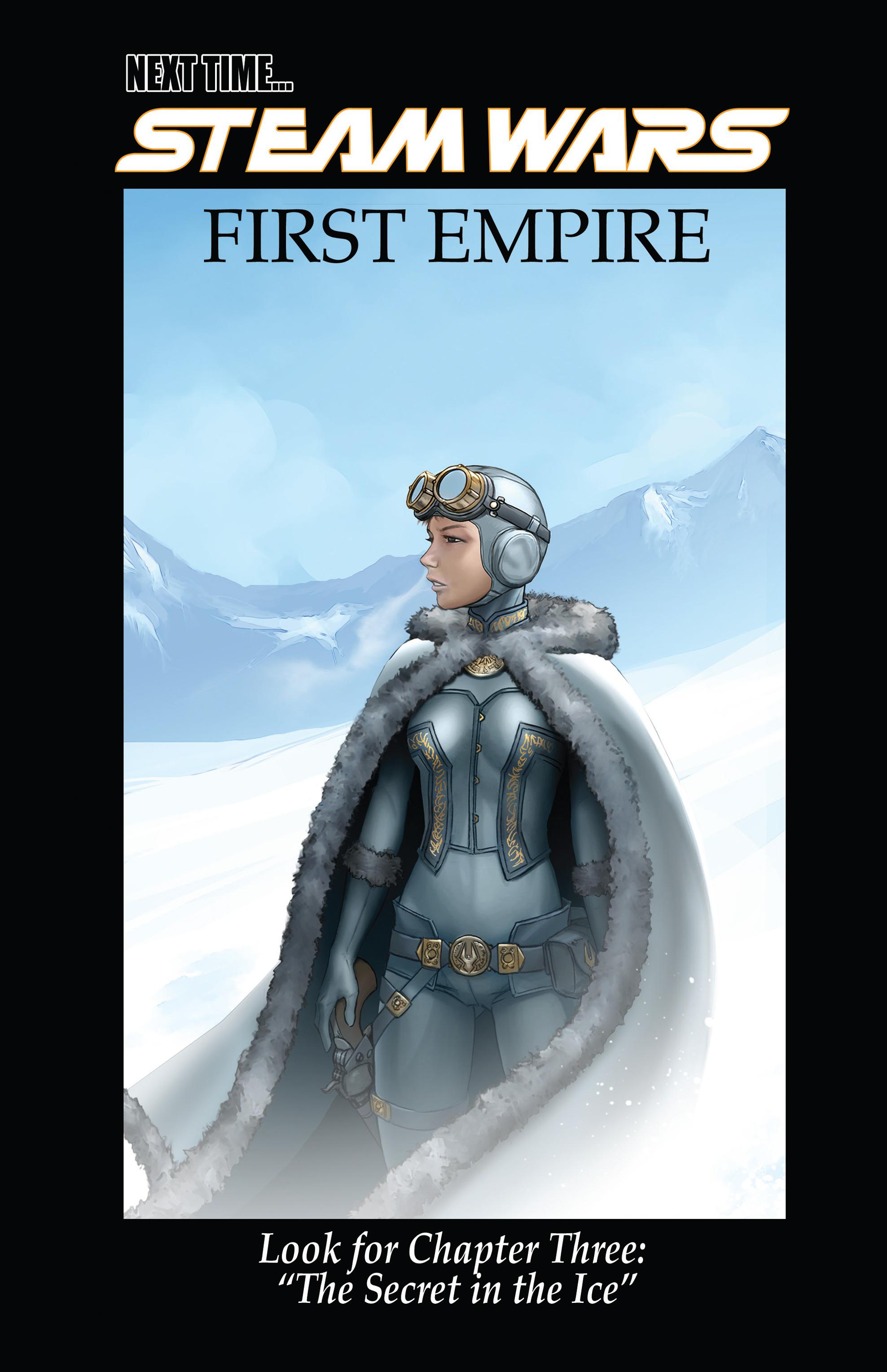 Read online Steam Wars: First Empire comic -  Issue #3 - 21