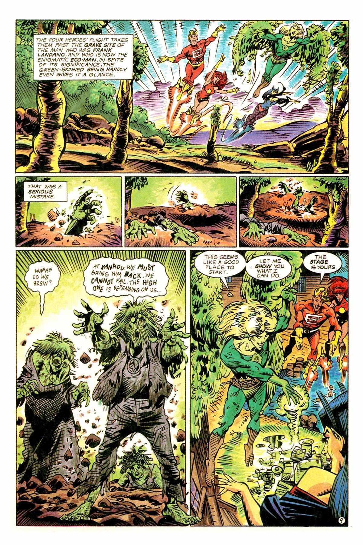 Read online E-man (1993) comic -  Issue # Full - 12