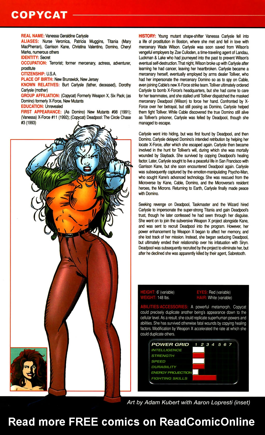 Read online All-New Official Handbook of the Marvel Universe A to Z comic -  Issue #3 - 4