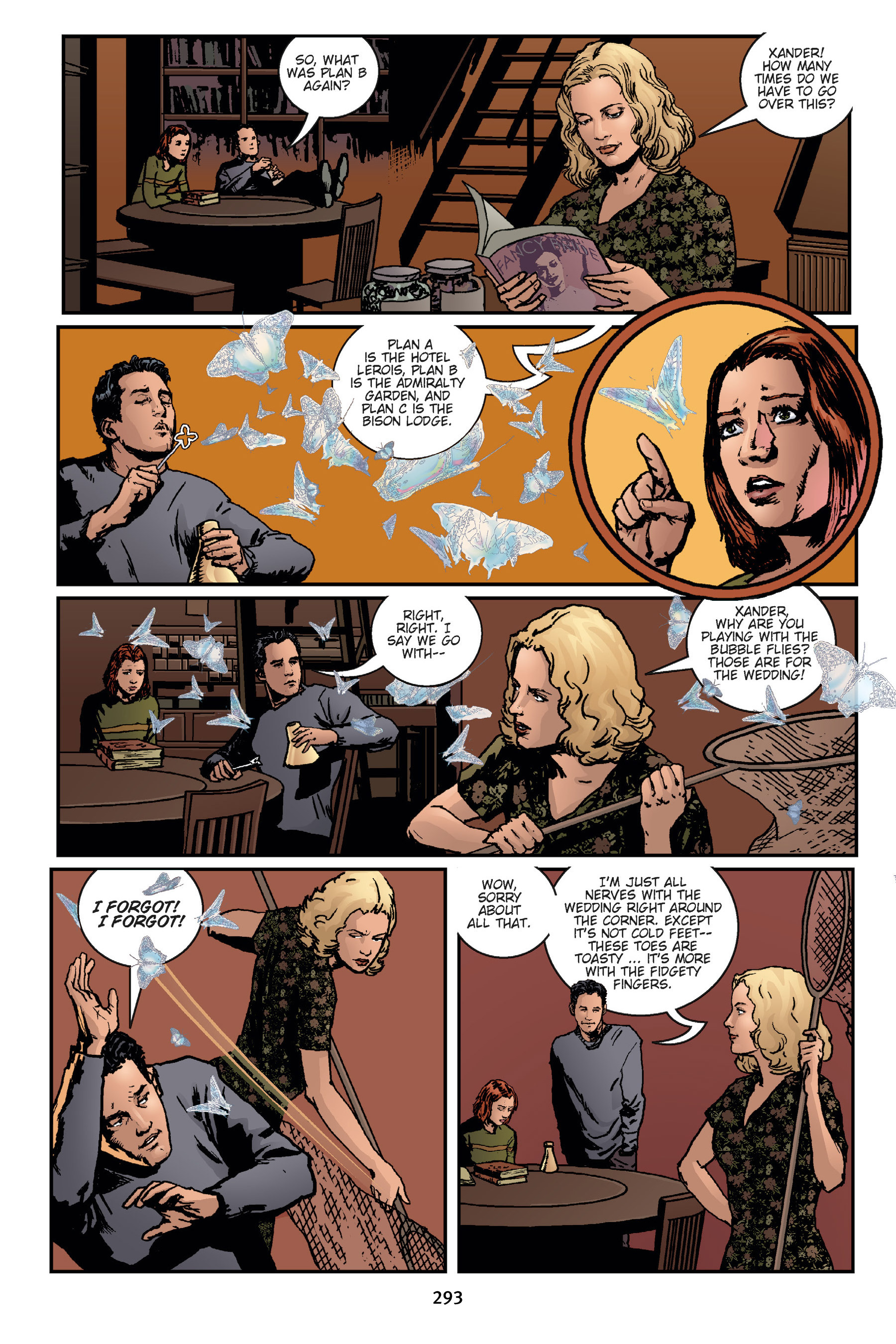 Read online Buffy the Vampire Slayer: Omnibus comic -  Issue # TPB 7 - 291