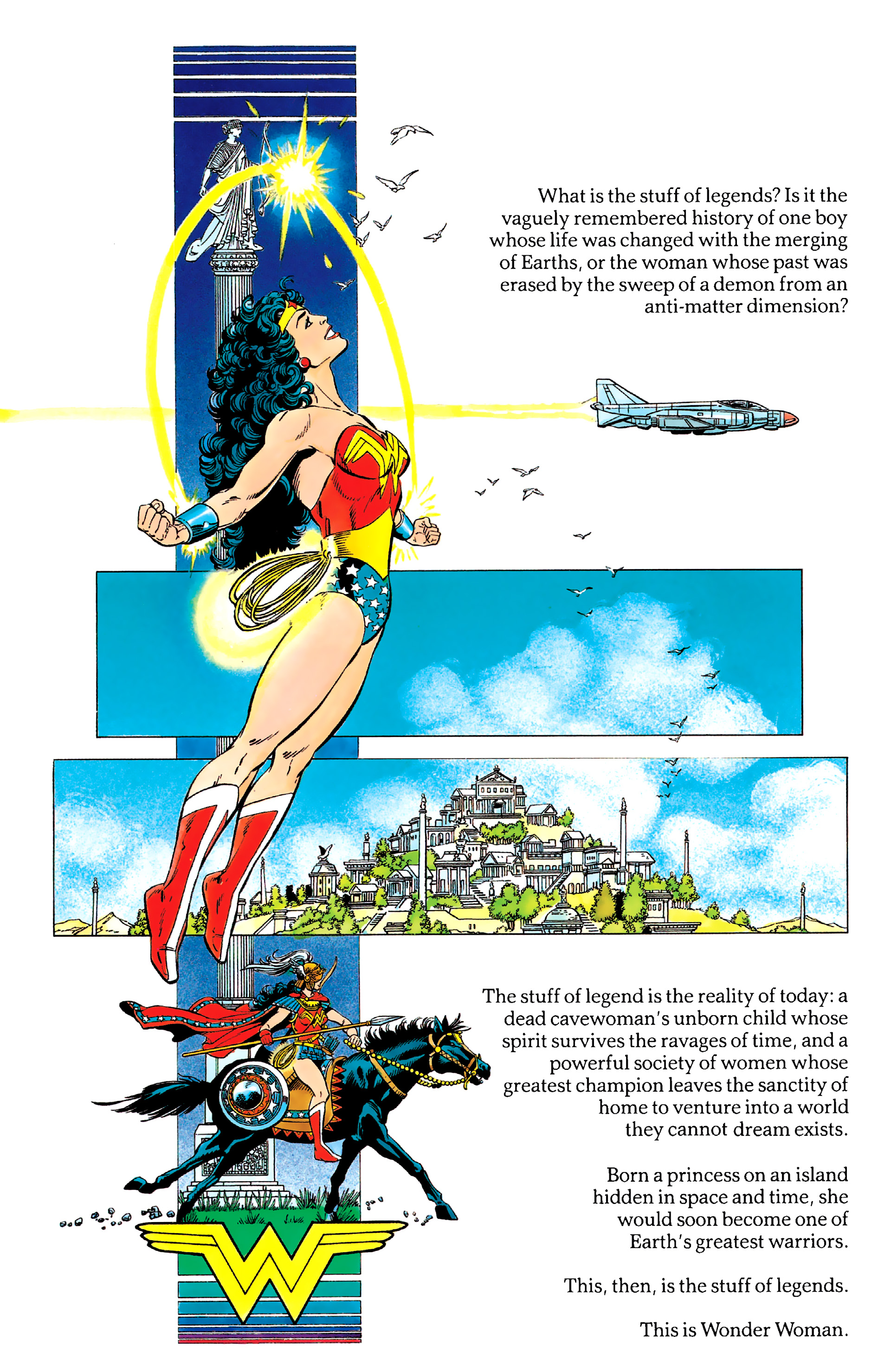 Read online History of the DC Universe comic -  Issue #2 - 42