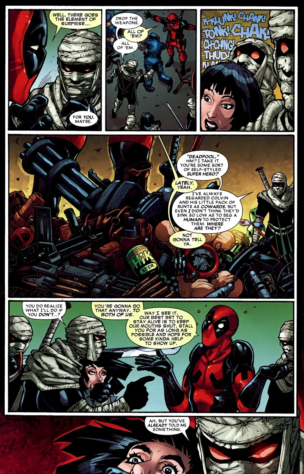 Read online Deadpool (2008) comic -  Issue #31 - 6