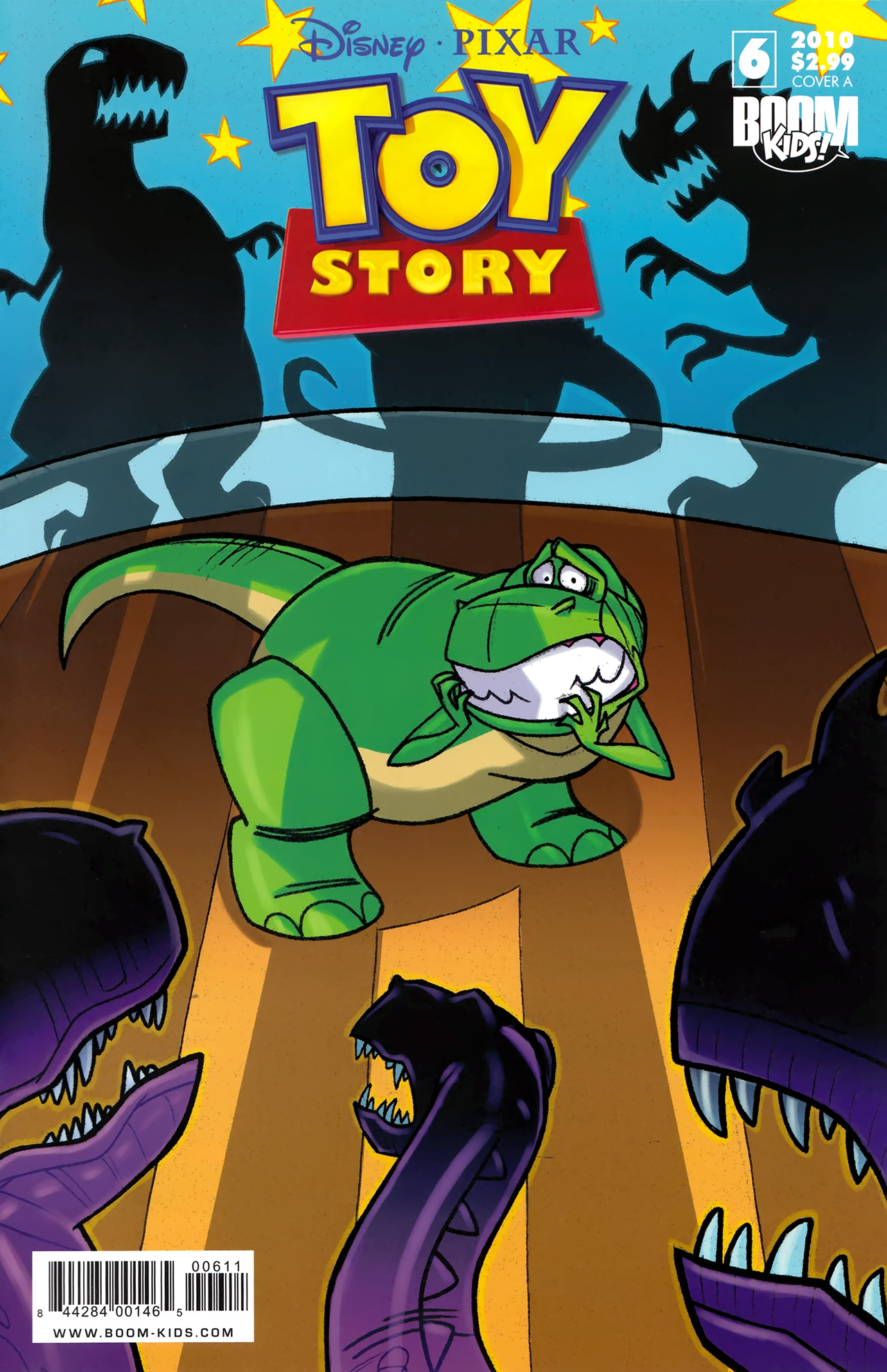 Read online Toy Story (2009) comic -  Issue #6 - 1