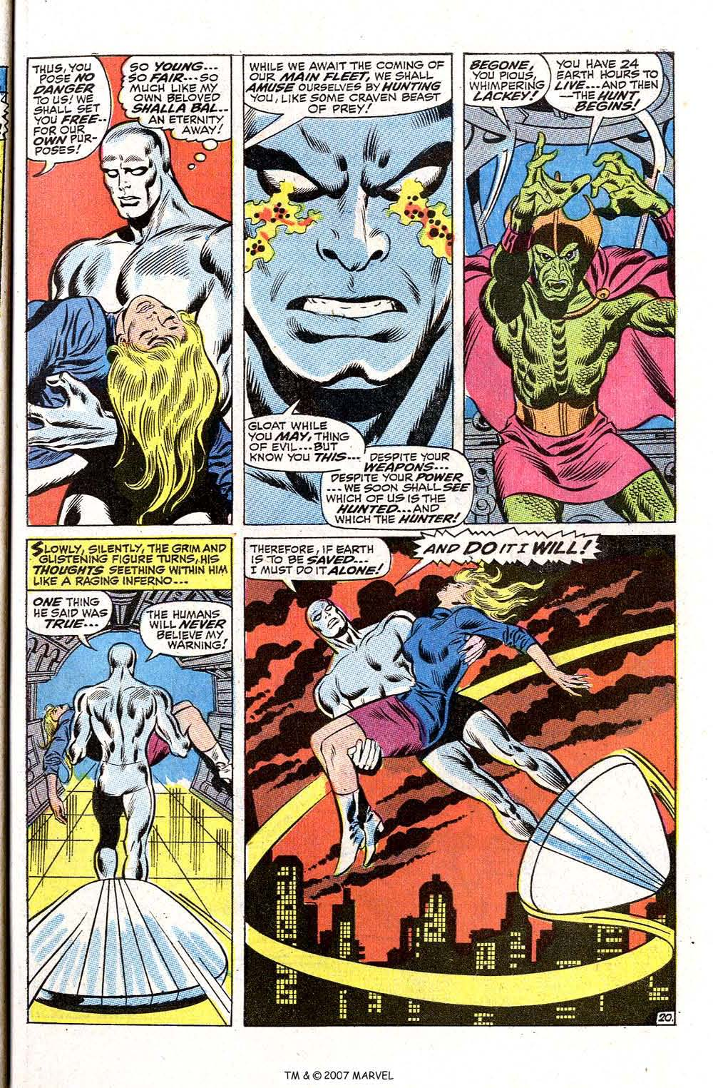 Read online Silver Surfer (1968) comic -  Issue #2 - 27
