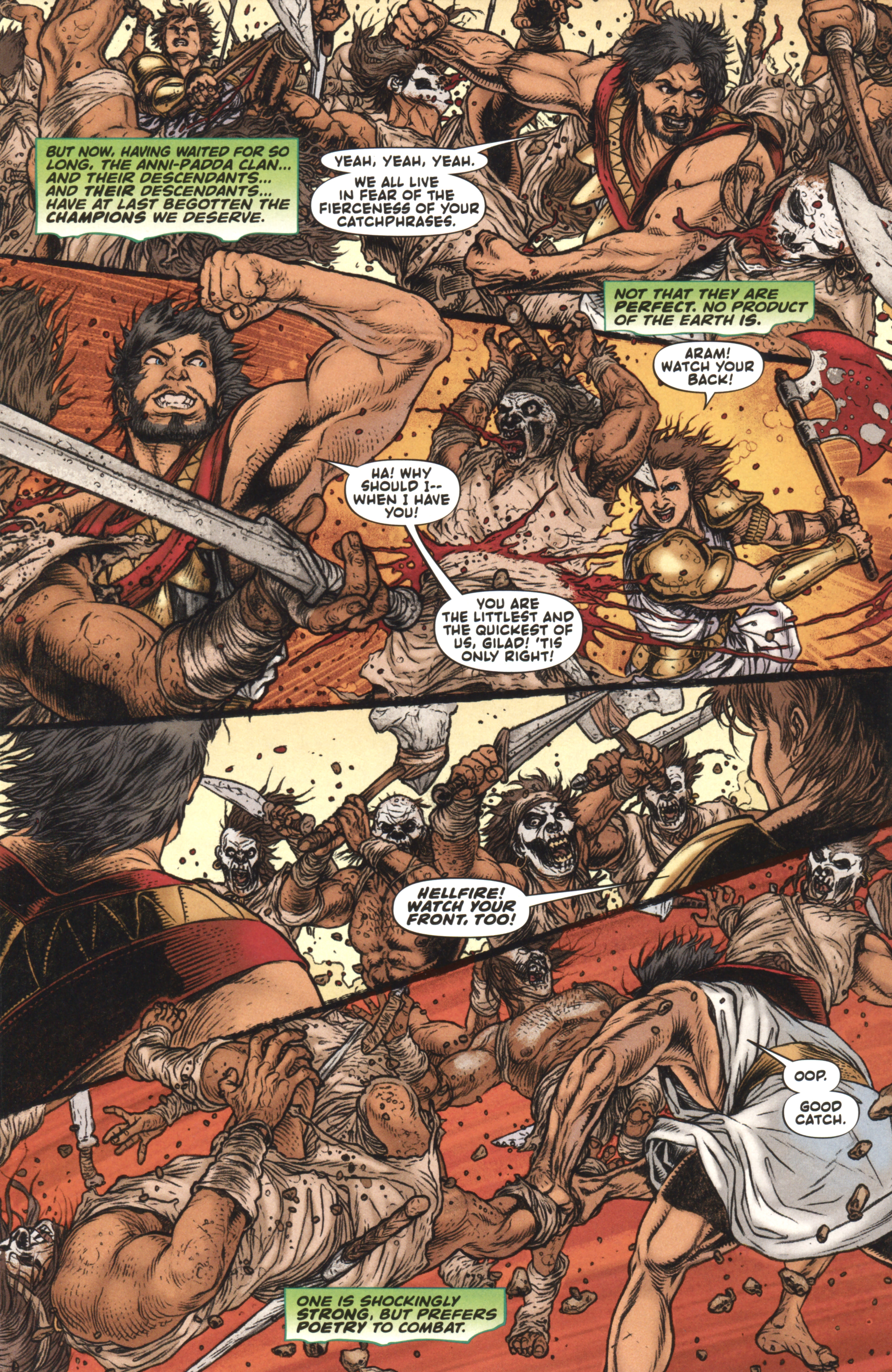 Read online Book of Death: Legends of the Geomancer comic -  Issue #4 - 7