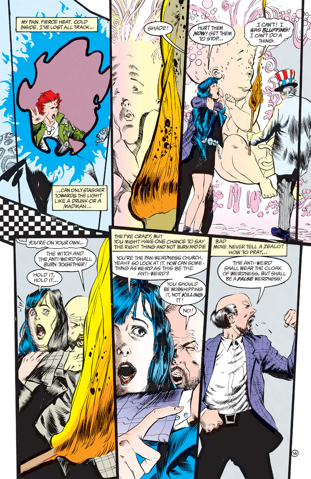 Read online Shade, the Changing Man comic -  Issue #9 - 11
