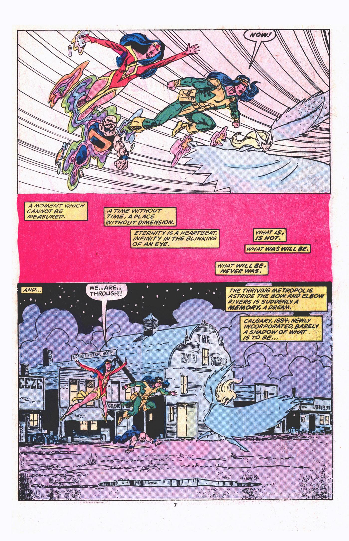Read online Alpha Flight (1983) comic -  Issue #19 - 8