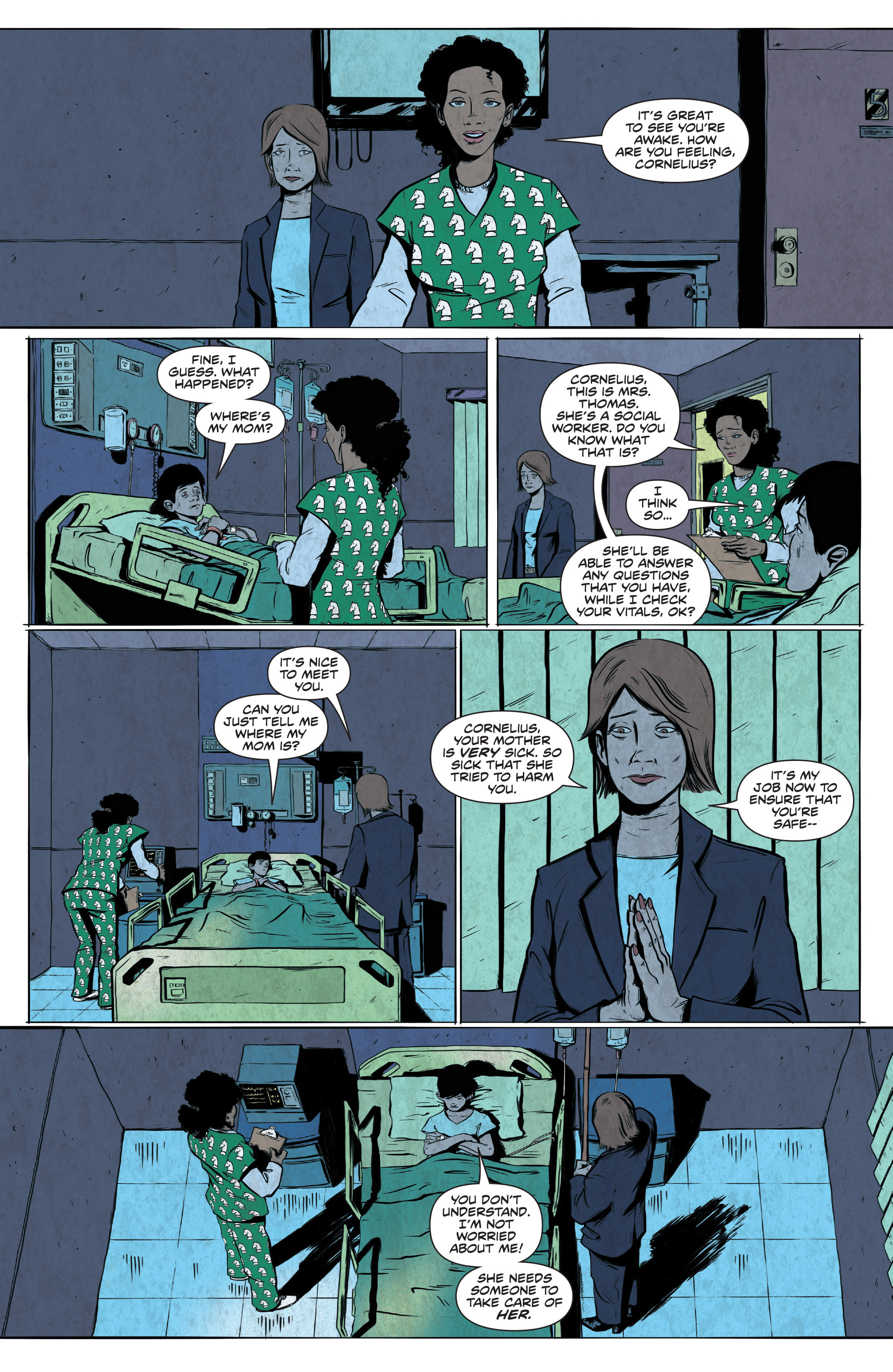 Read online Translucid comic -  Issue #5 - 8