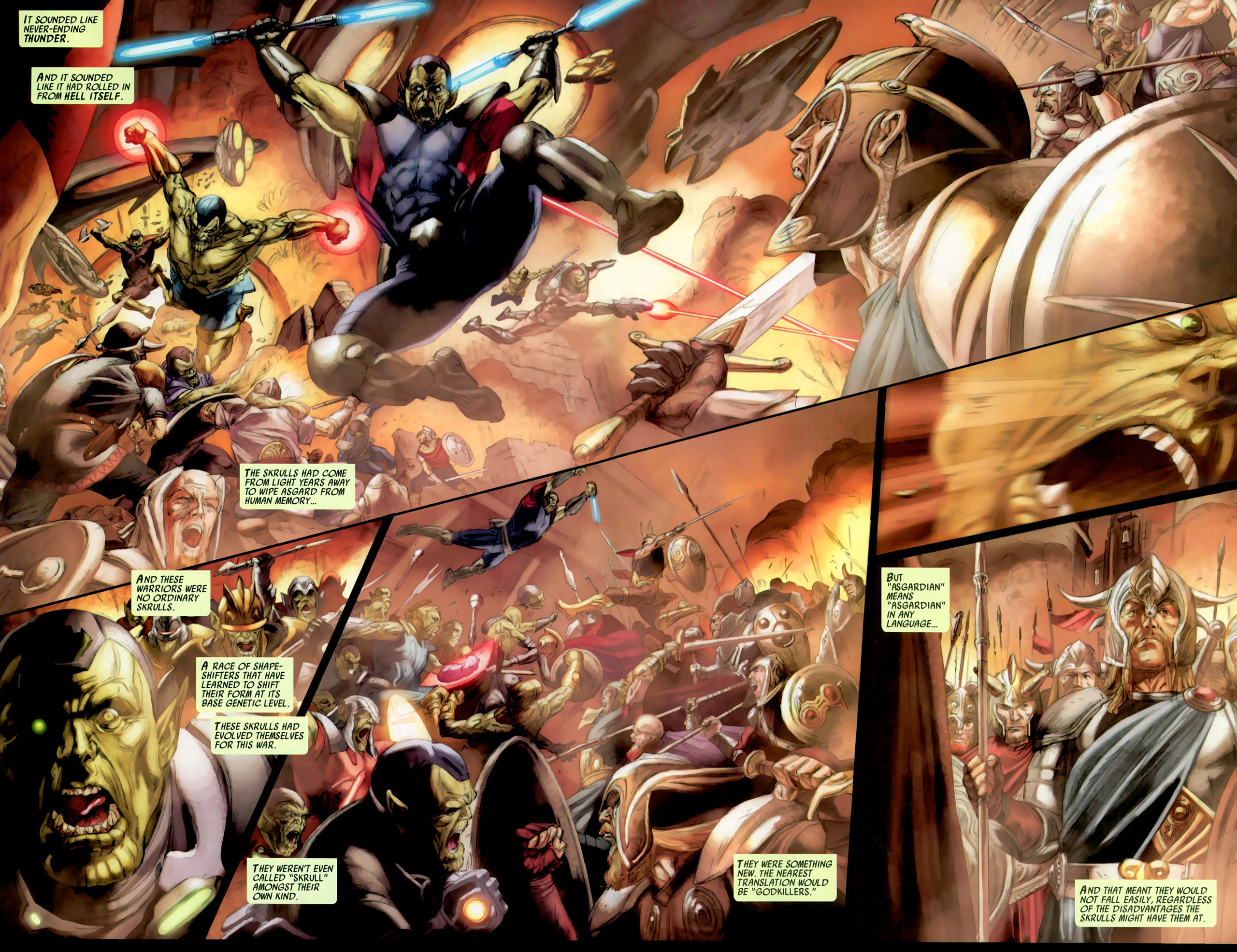 Read online Secret Invasion: Thor comic -  Issue #2 - 3