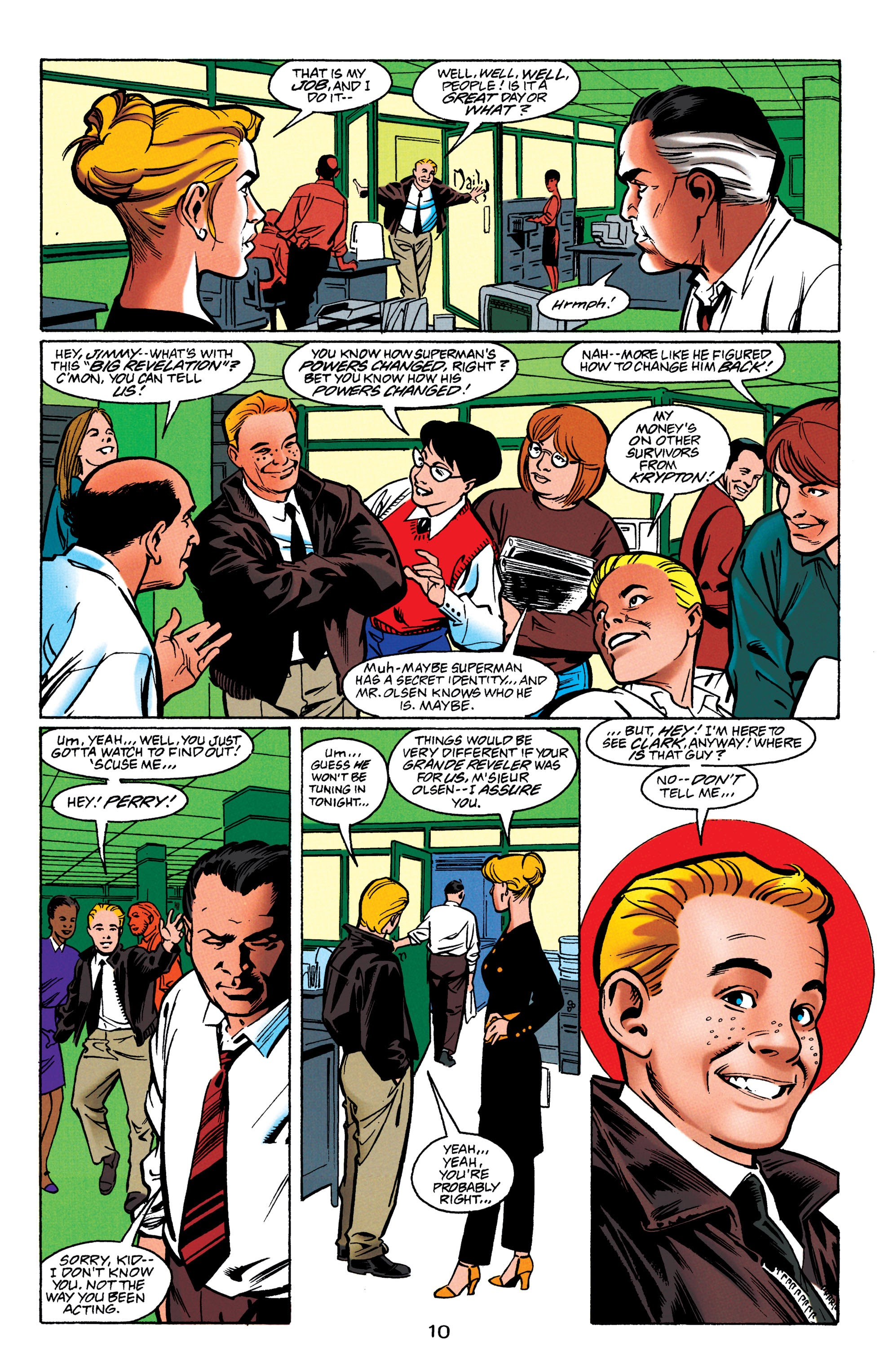 Adventures of Superman (1987) issue 550 - Page 11