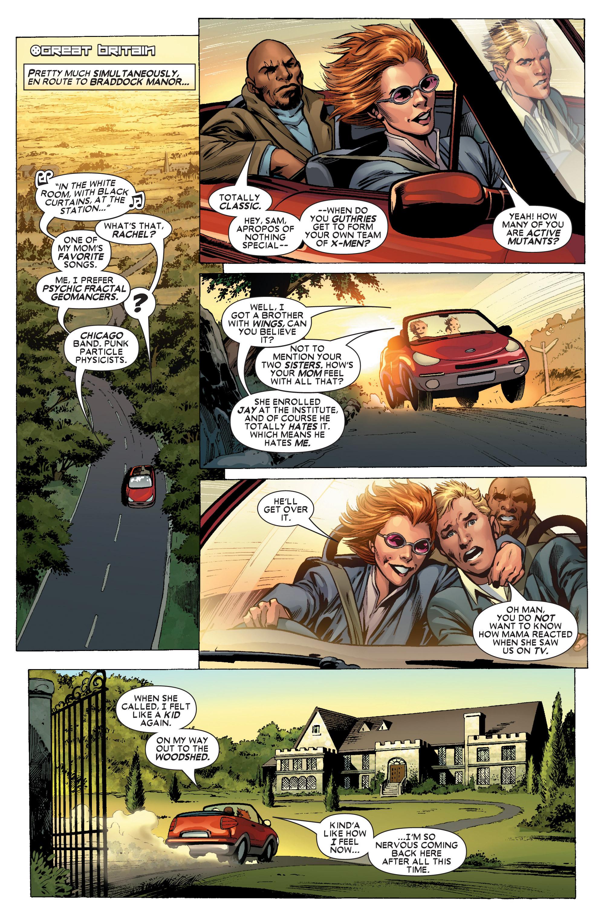 Read online Uncanny X-Men (1963) comic -  Issue #445 - 16