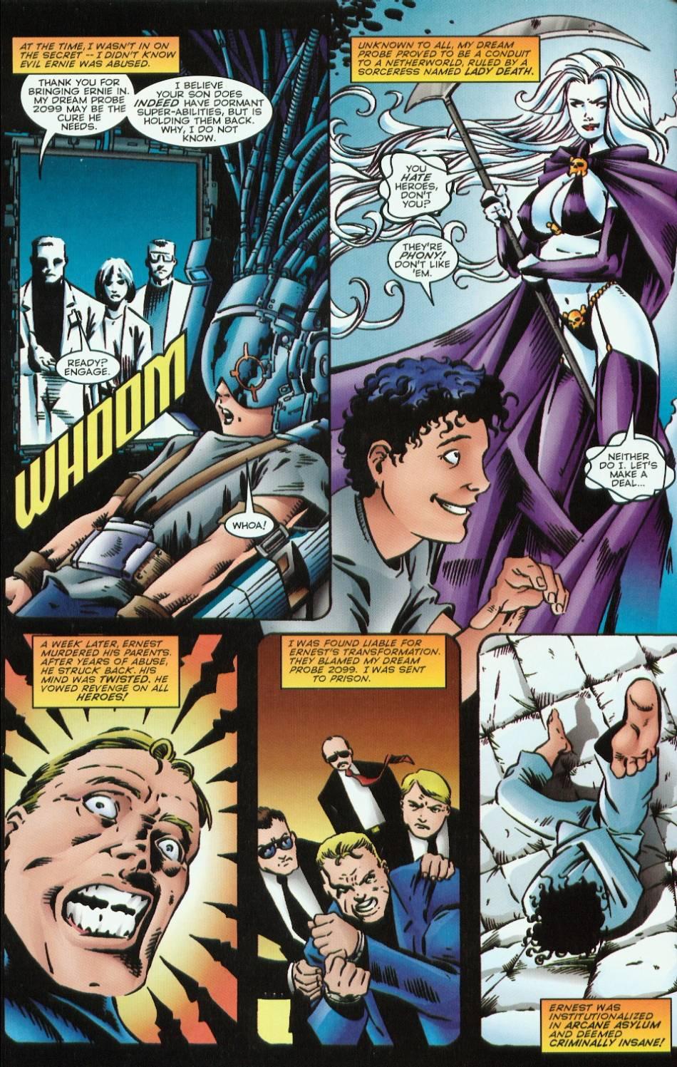 Read online Evil Ernie vs. the Superheroes comic -  Issue #1 - 8