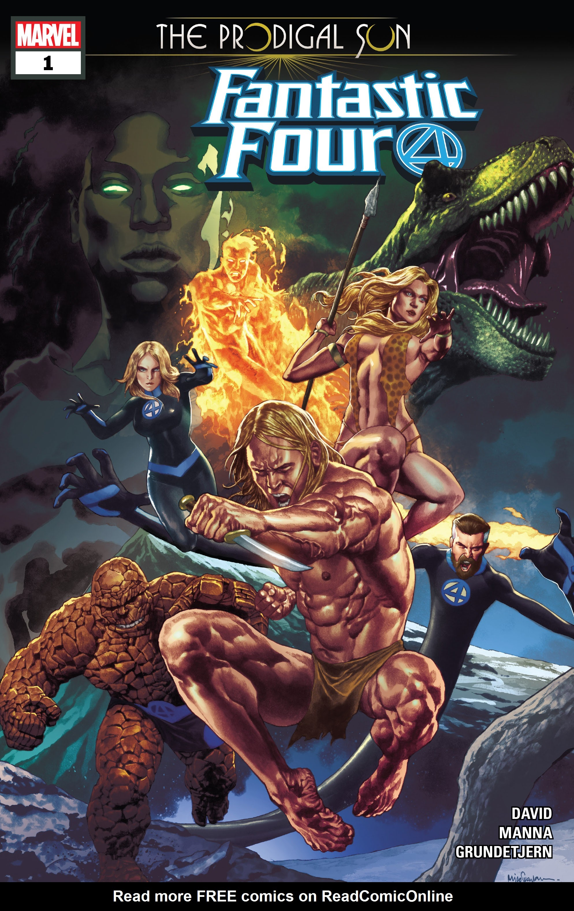 Fantastic Four: The Prodigal Sun Full Page 1