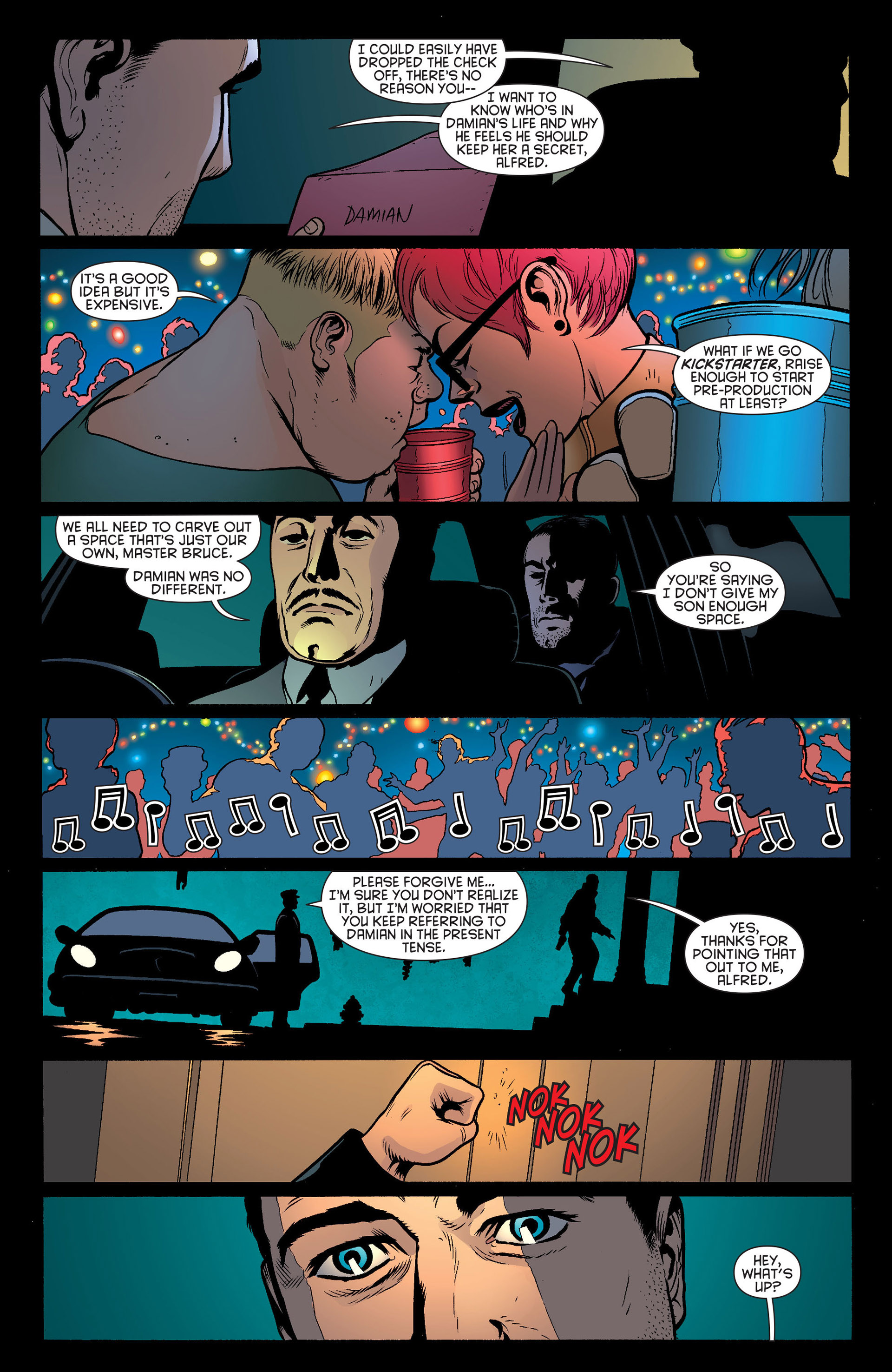 Read online Batman and Robin (2011) comic -  Issue #19 - 5