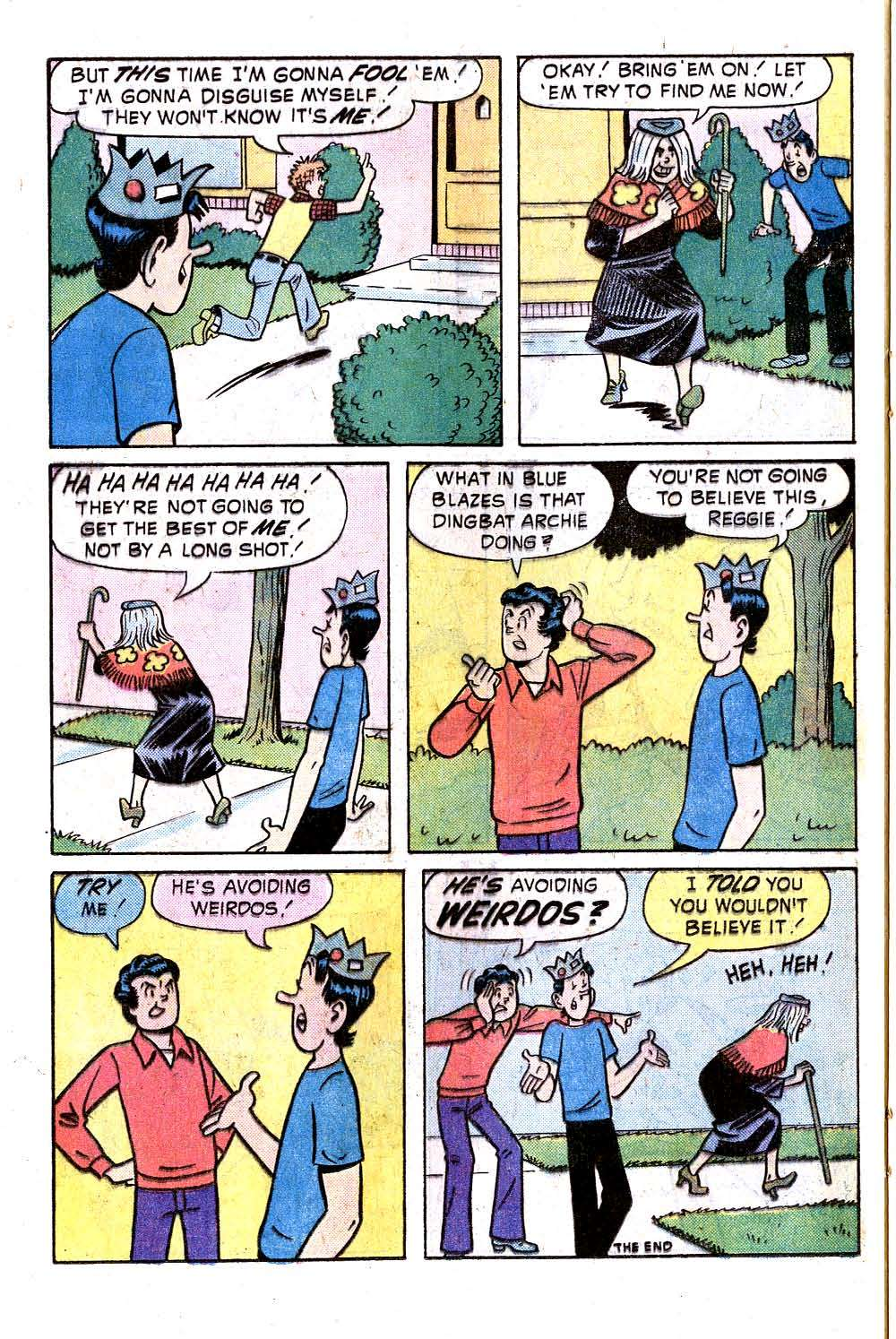 Read online Archie (1960) comic -  Issue #246 - 24