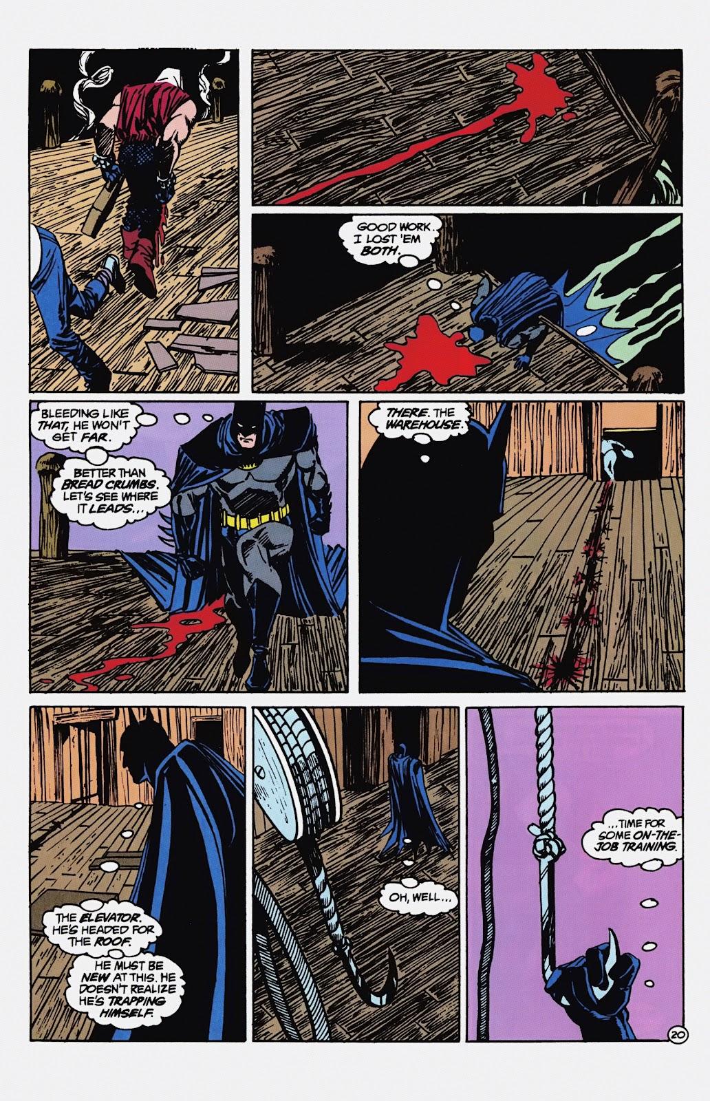 Read online Detective Comics (1937) comic -  Issue # _TPB Batman - Blind Justice (Part 1) - 25