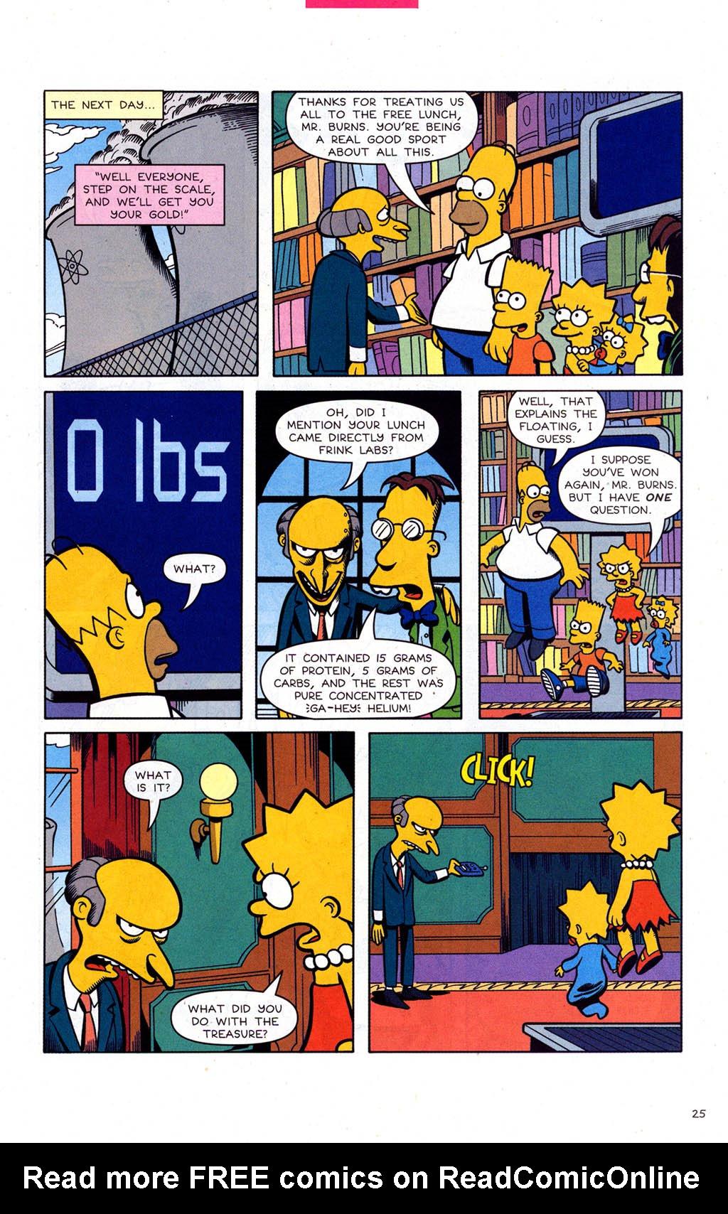 Read online Simpsons Comics comic -  Issue #102 - 26