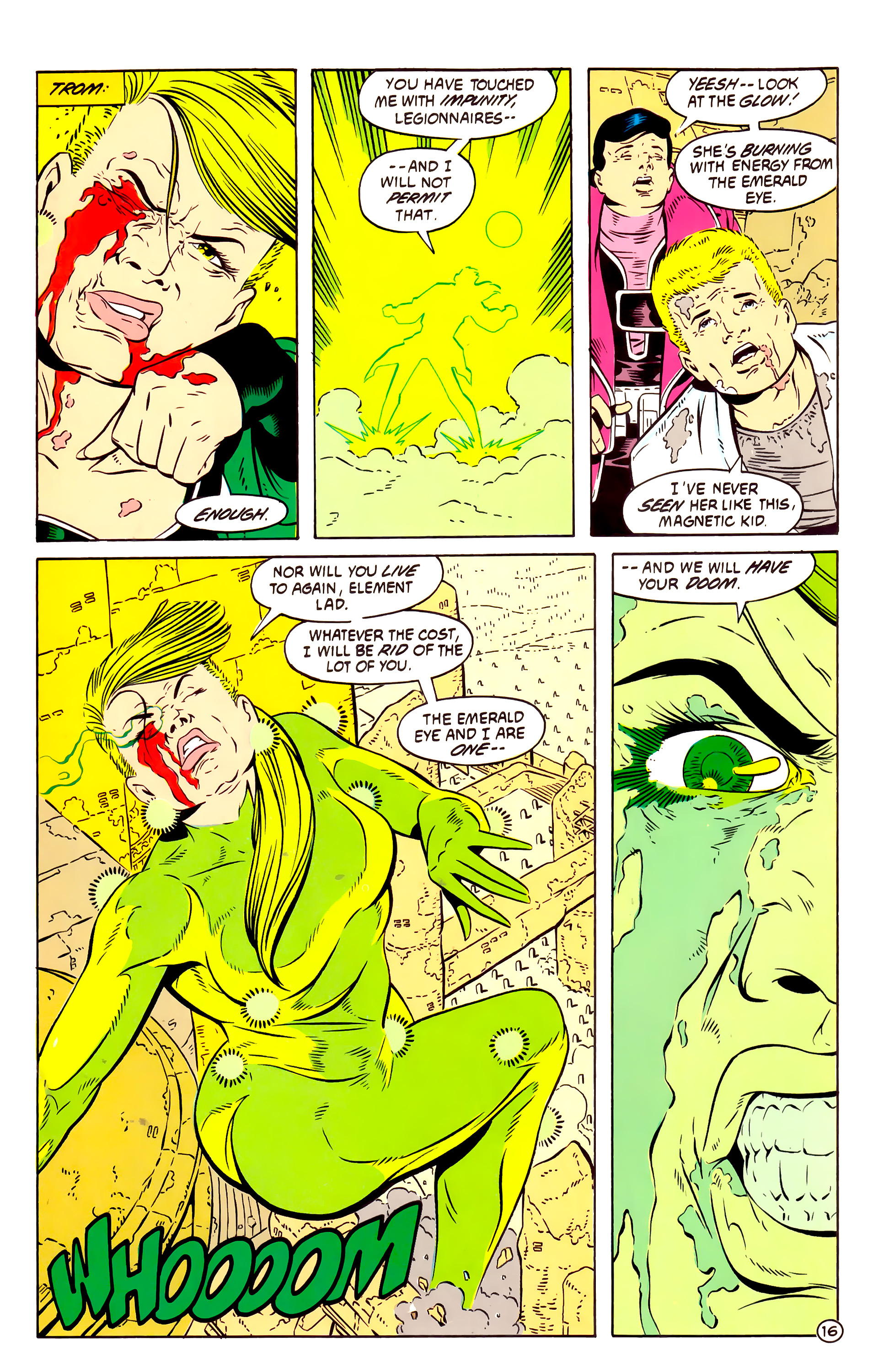 Legion of Super-Heroes (1984) 58 Page 16