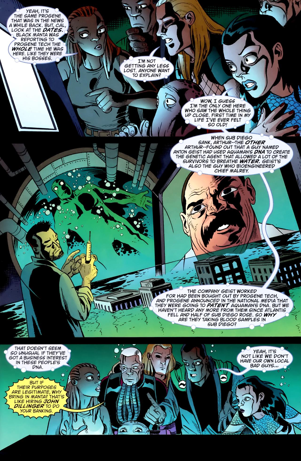 Read online Aquaman: Sword of Atlantis comic -  Issue #54 - 4