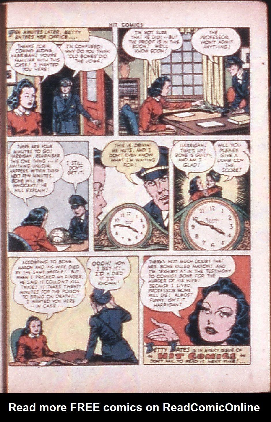 Read online Hit Comics comic -  Issue #33 - 36