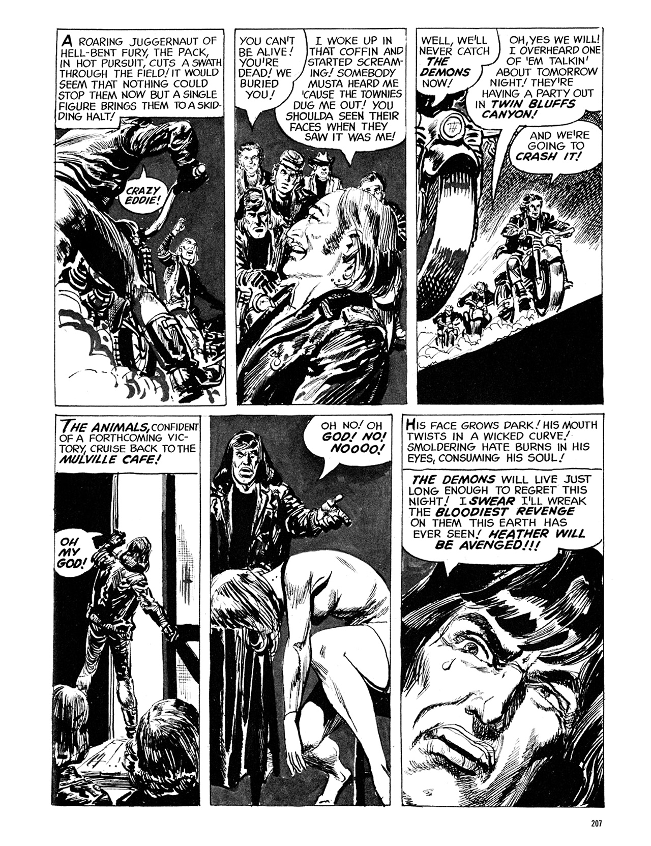 Read online Eerie Archives comic -  Issue # TPB 5 - 208