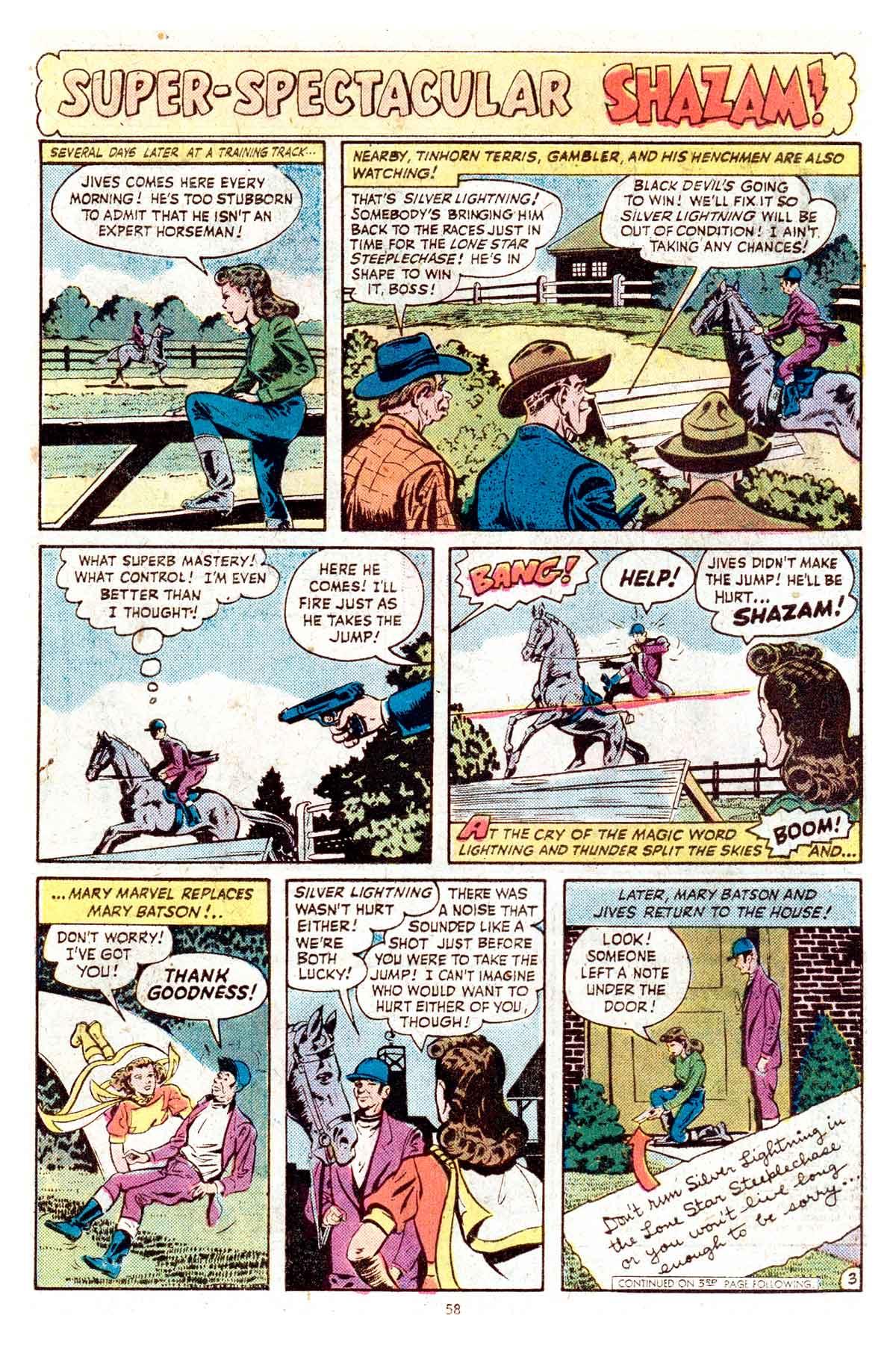 Read online Shazam! (1973) comic -  Issue #17 - 58