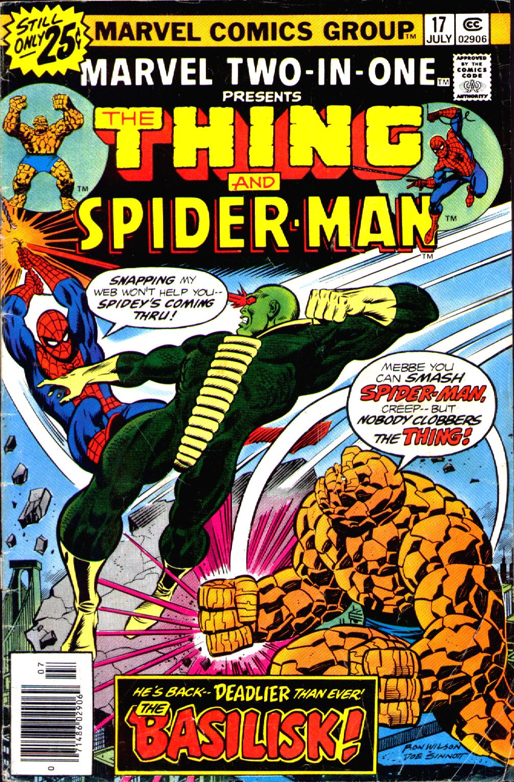 Marvel Two-In-One (1974) issue 17 - Page 1