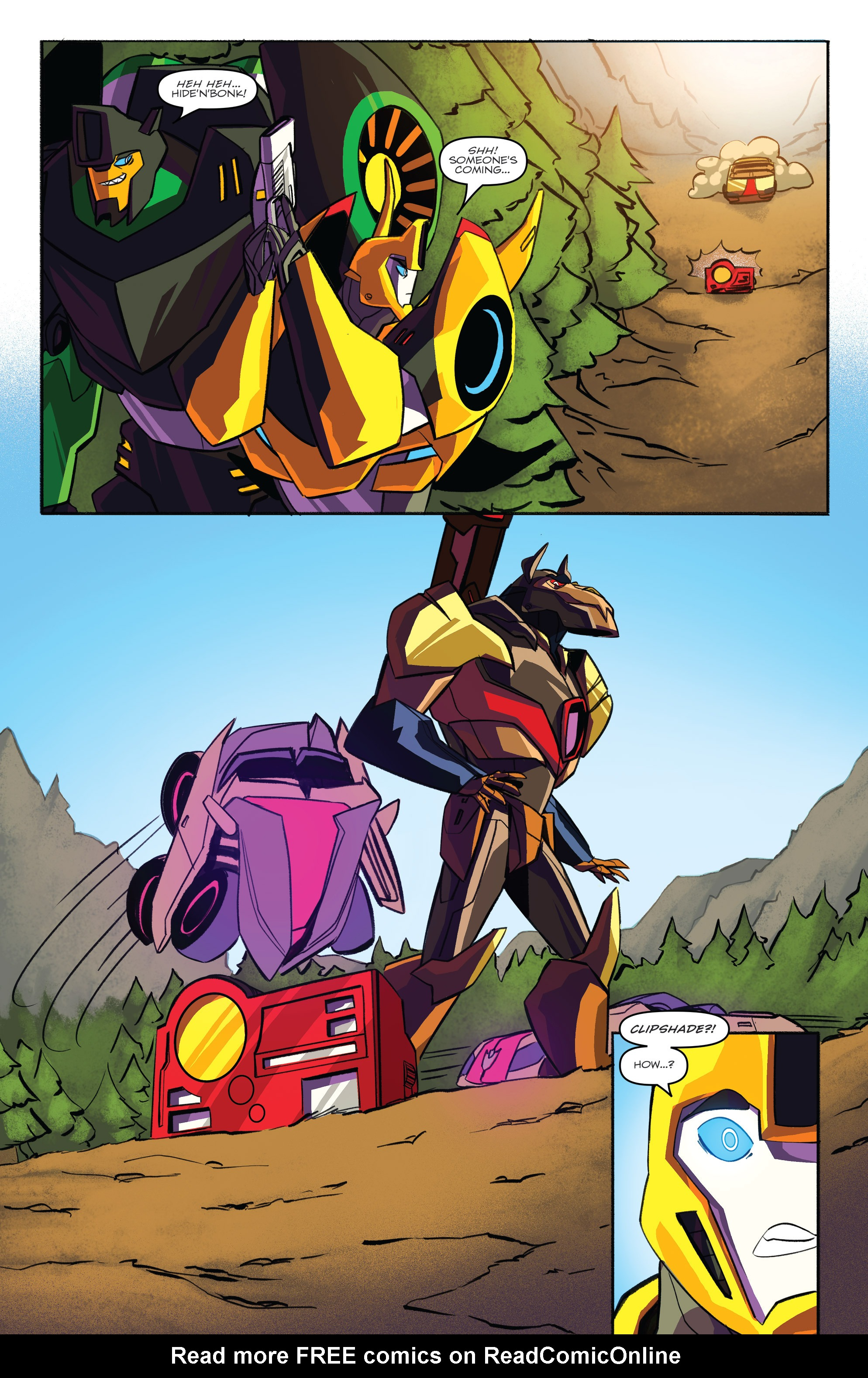 Read online Transformers: Robots In Disguise (2015) comic -  Issue #3 - 18