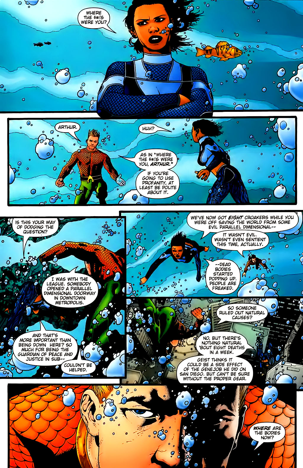 Read online Aquaman (2003) comic -  Issue #30 - 5