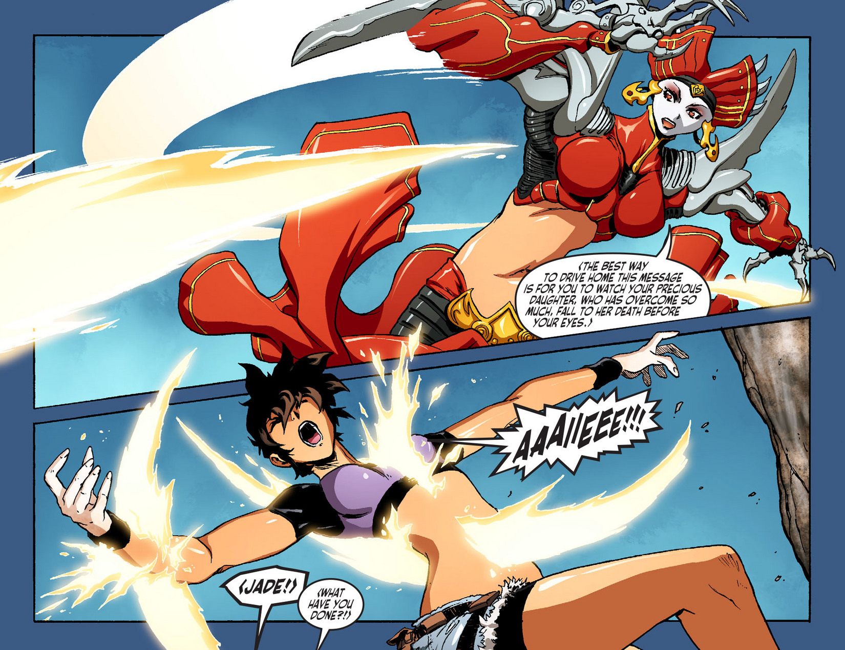 Read online Ame-Comi Girls comic -  Issue #7 - 8