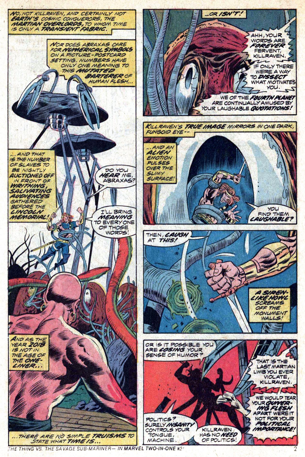 Read online Amazing Adventures (1970) comic -  Issue #23 - 4