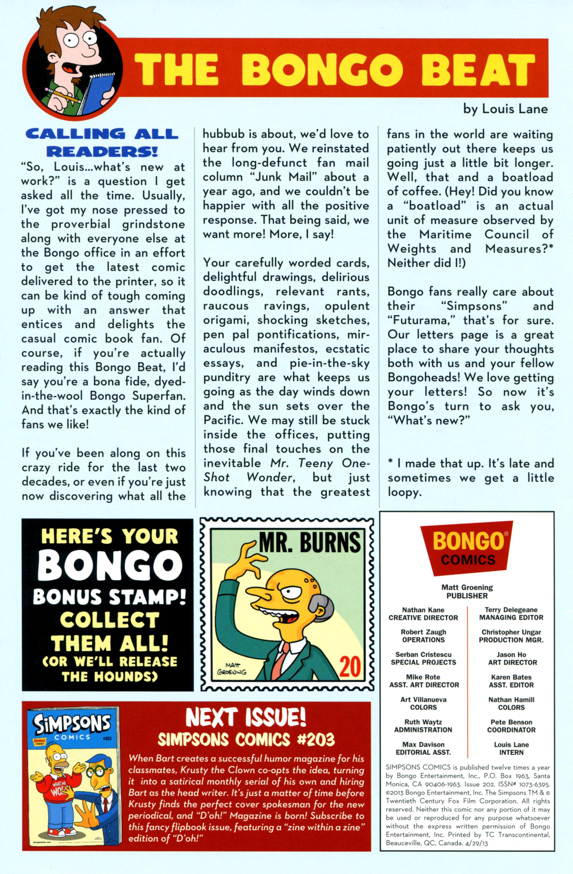 Read online Simpsons Comics comic -  Issue #202 - 28
