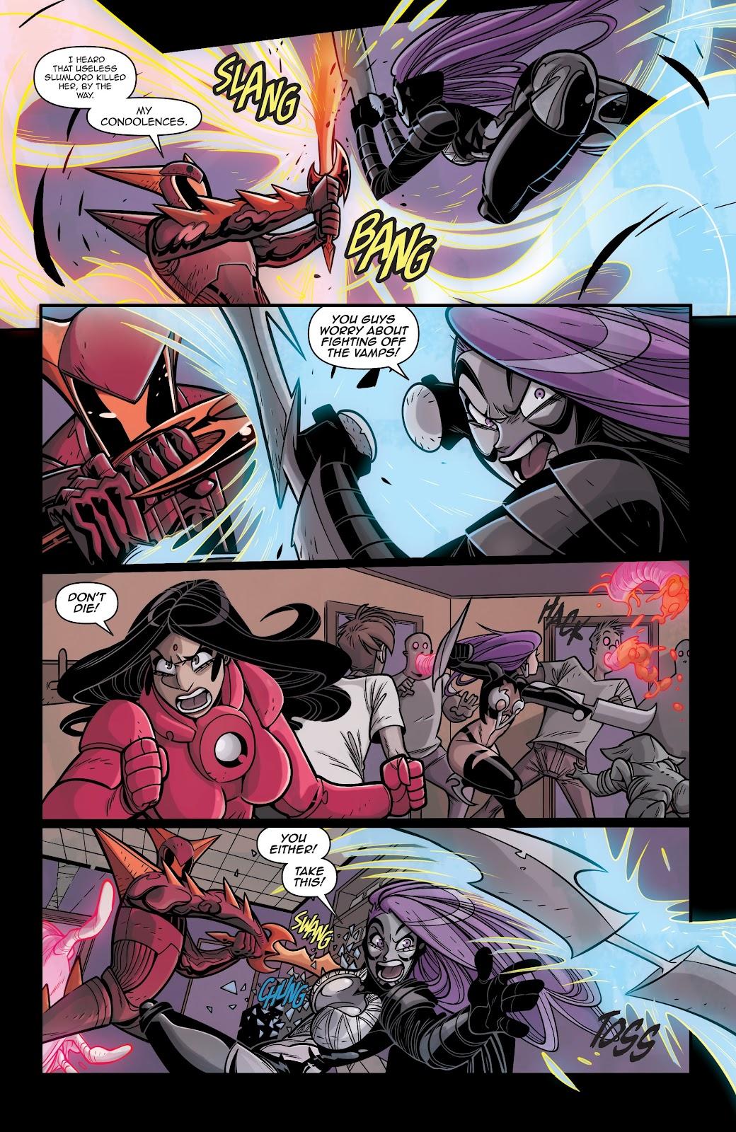 Read online Vampblade Season 3 comic -  Issue #12 - 13