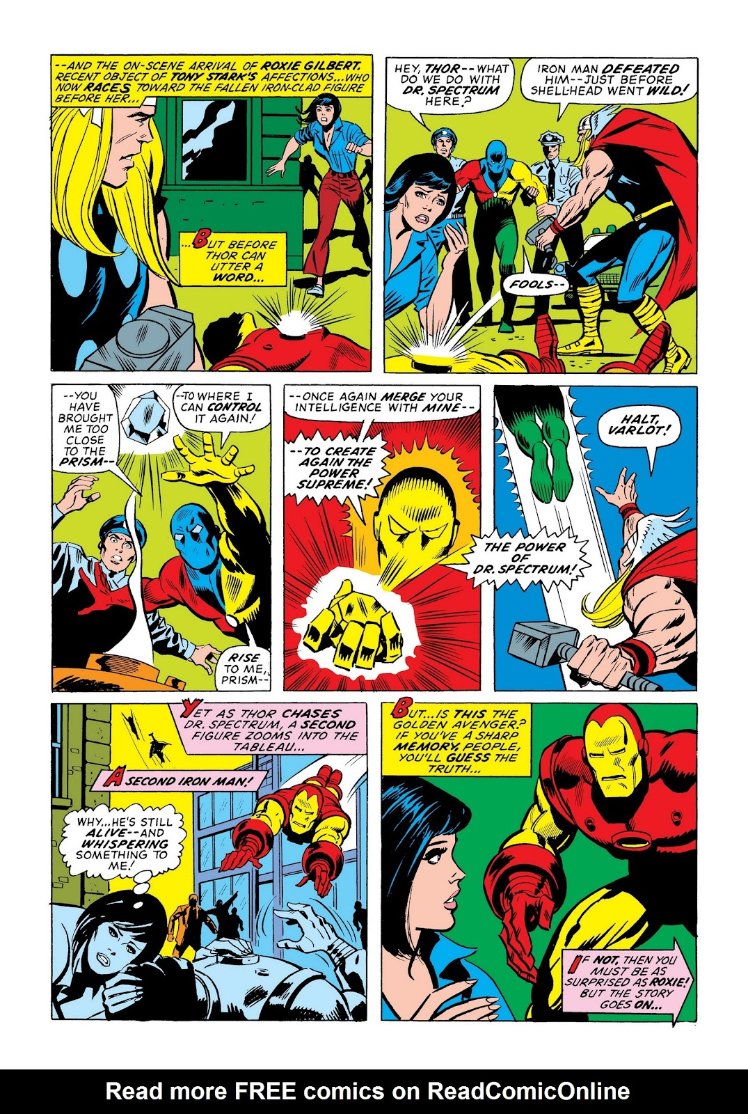 Read online Marvel Masterworks: The Invincible Iron Man comic -  Issue # TPB 9 (Part 3) - 61