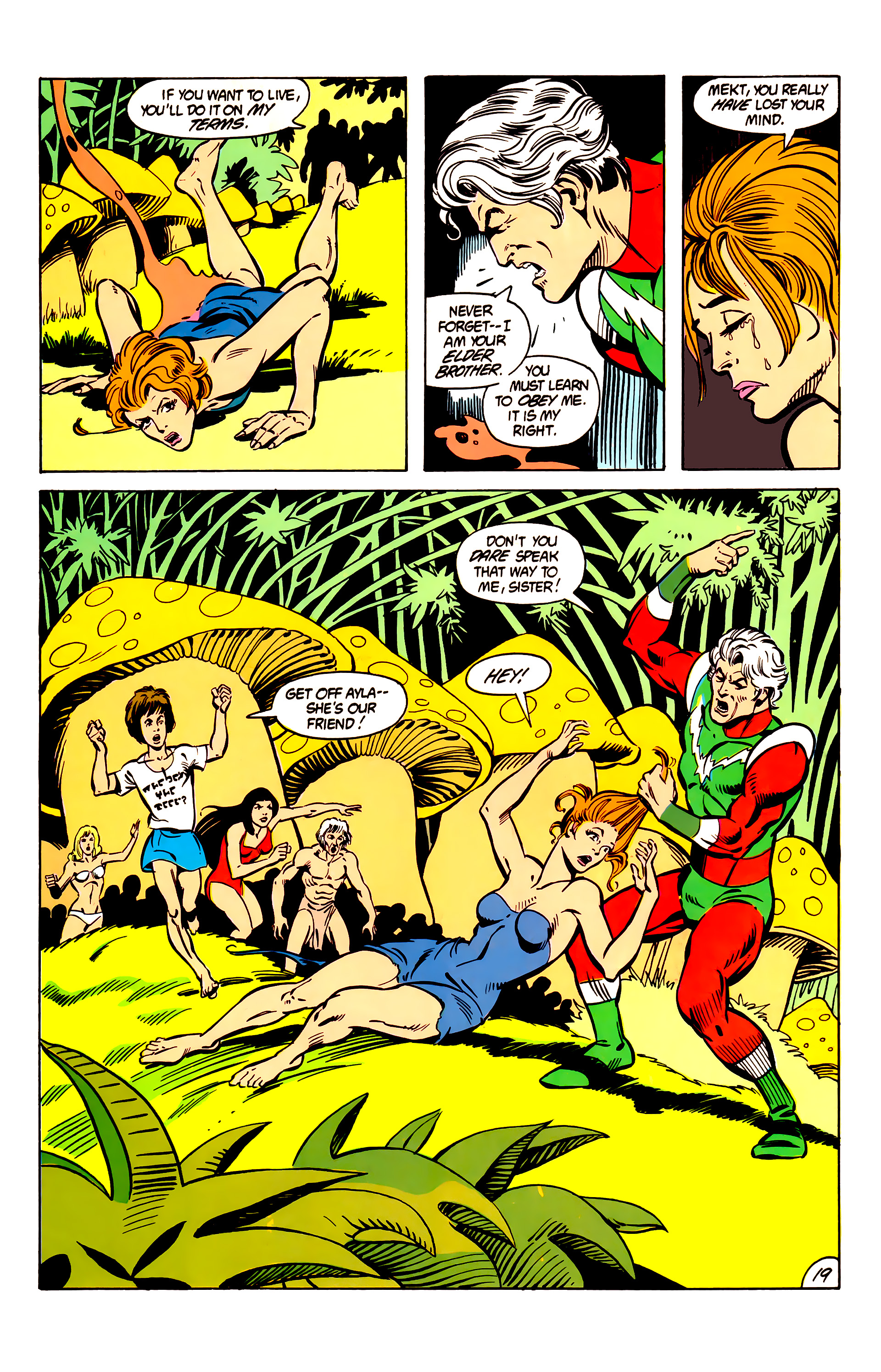 Legion of Super-Heroes (1984) 6 Page 19