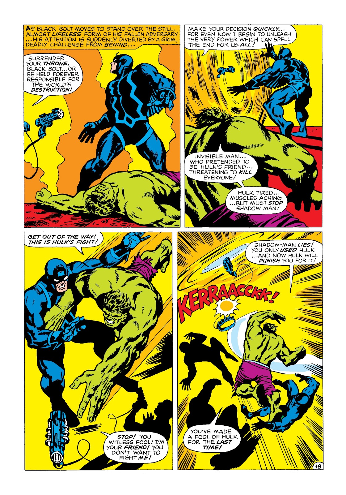 Read online Marvel Masterworks: The Incredible Hulk comic -  Issue # TPB 4 (Part 2) - 81