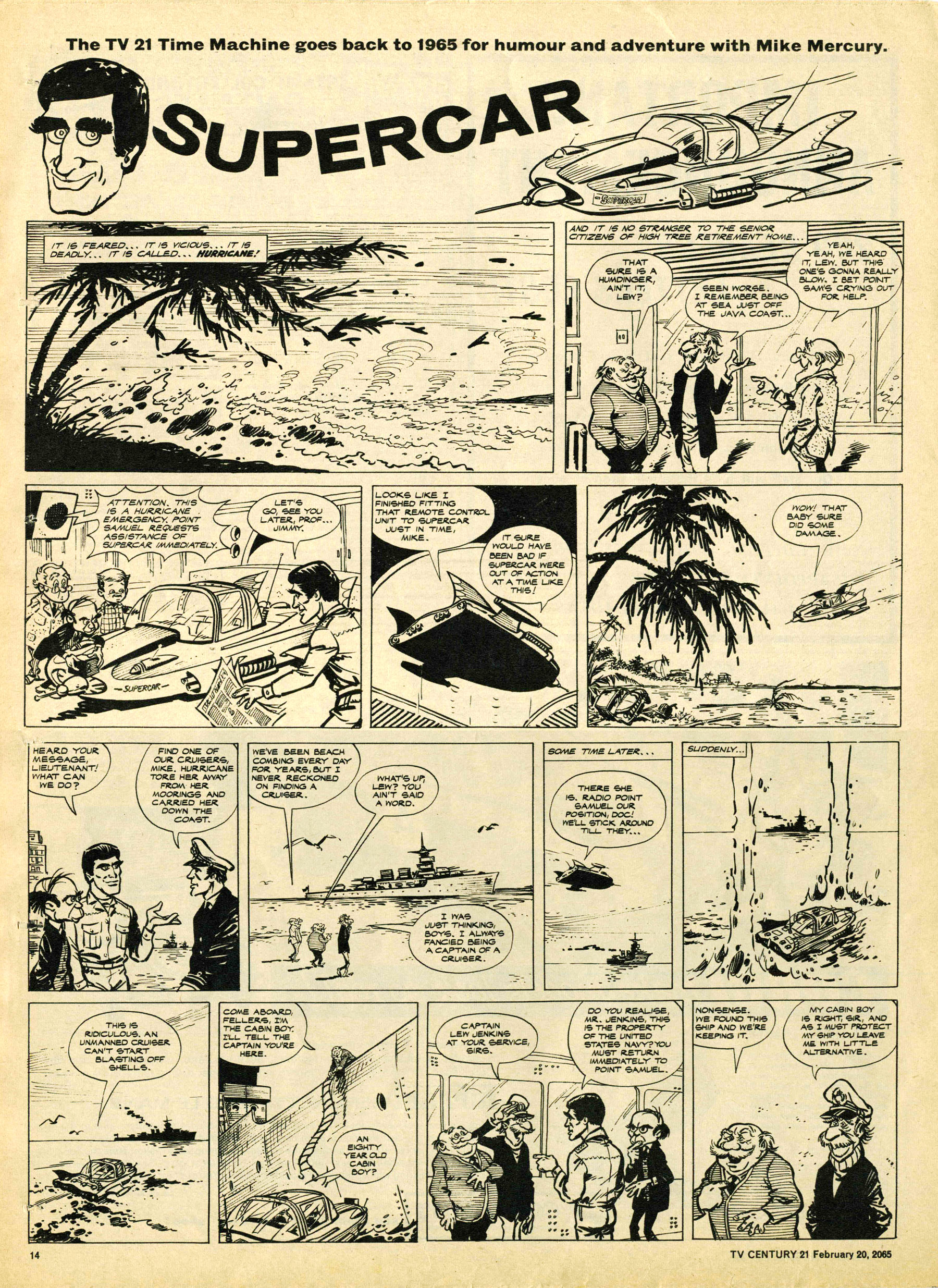 Read online TV Century 21 (TV 21) comic -  Issue #5 - 13