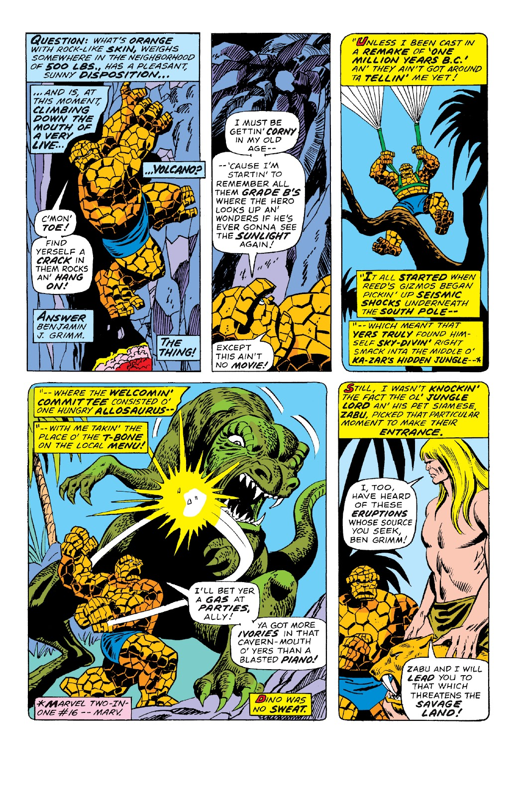 Read online Marvel Two-In-One Epic Collection: Cry Monster comic -  Issue # TPB (Part 4) - 53
