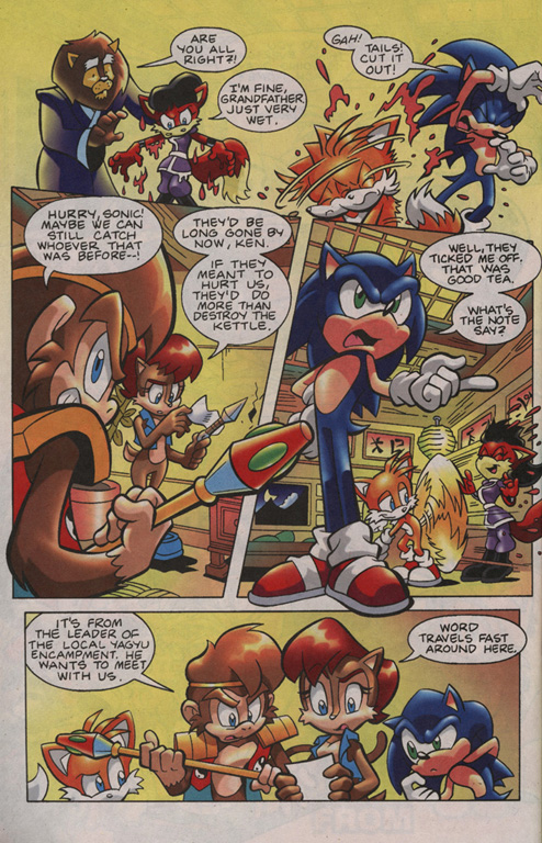 Read online Sonic Universe comic -  Issue #13 - 22