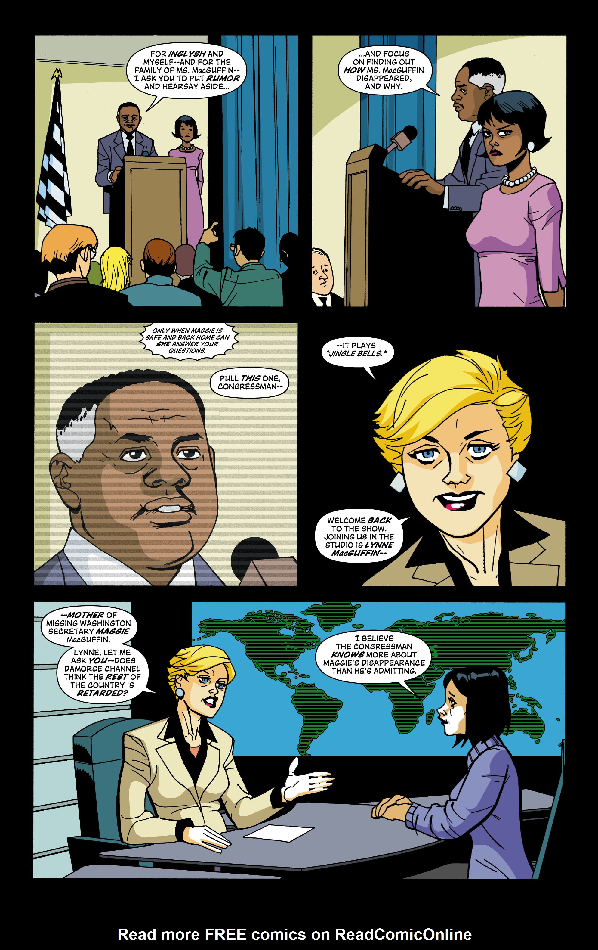 Read online Red Herring comic -  Issue #3 - 19