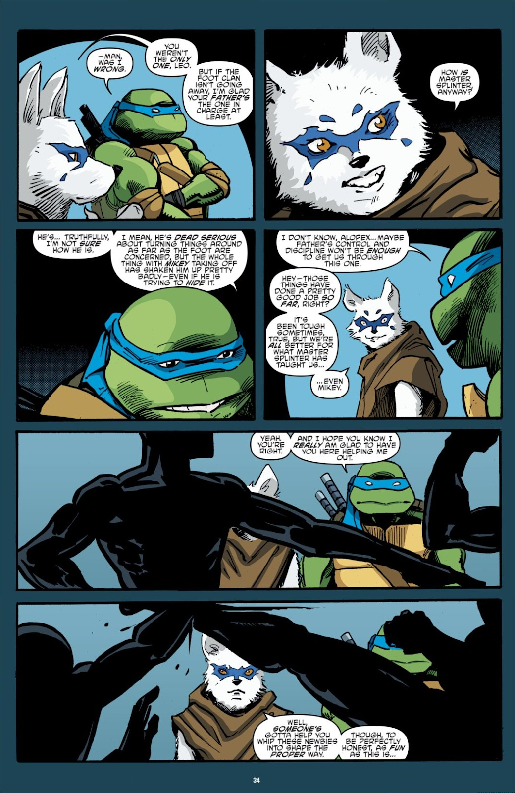 Read online Teenage Mutant Ninja Turtles: The IDW Collection comic -  Issue # TPB 7 (Part 1) - 34