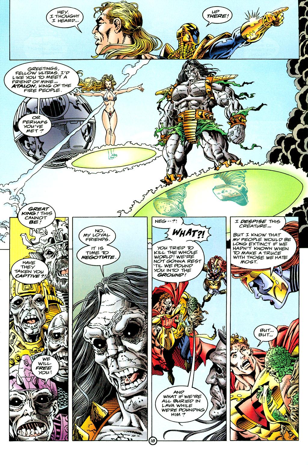 Read online UltraForce (1994) comic -  Issue #6 - 18
