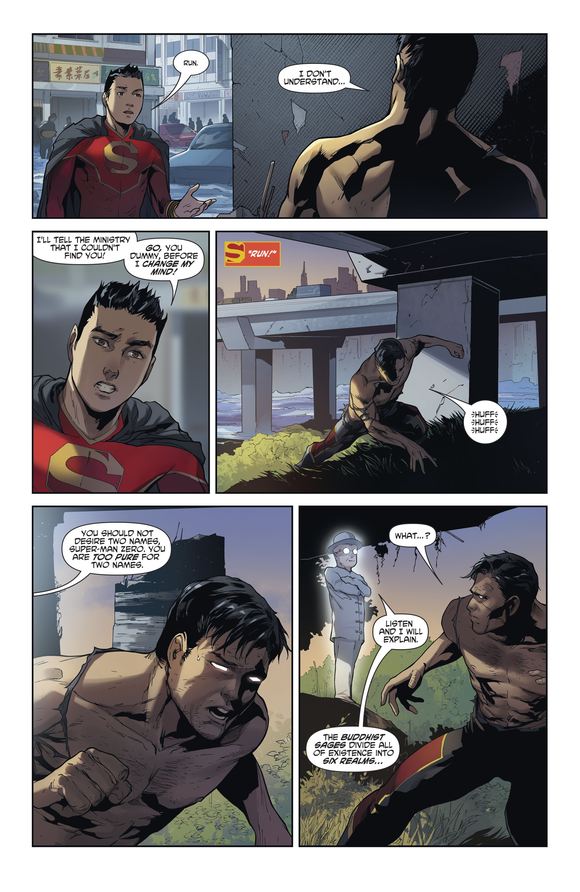 Read online New Super-Man comic -  Issue #12 - 15