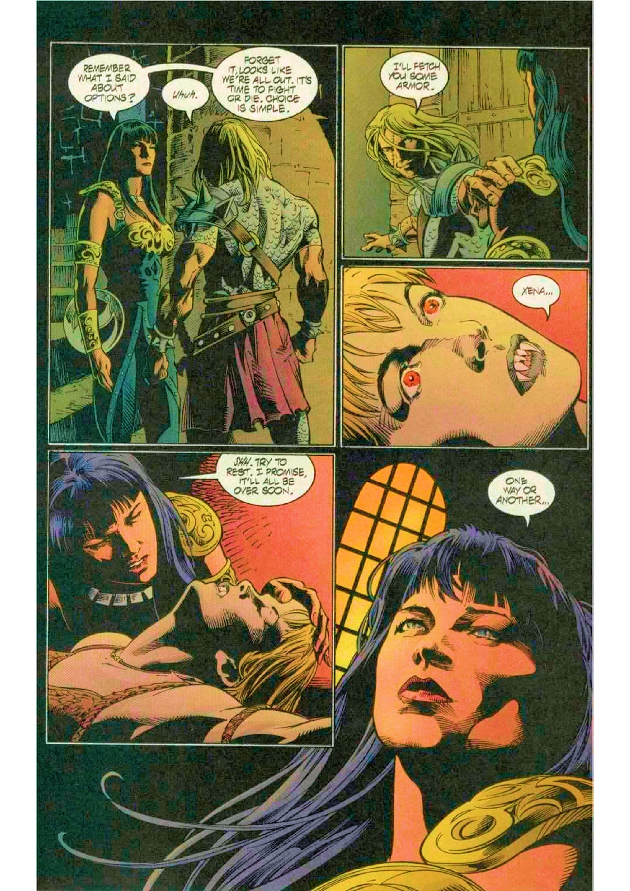 Read online Xena: Warrior Princess (1999) comic -  Issue #12 - 14