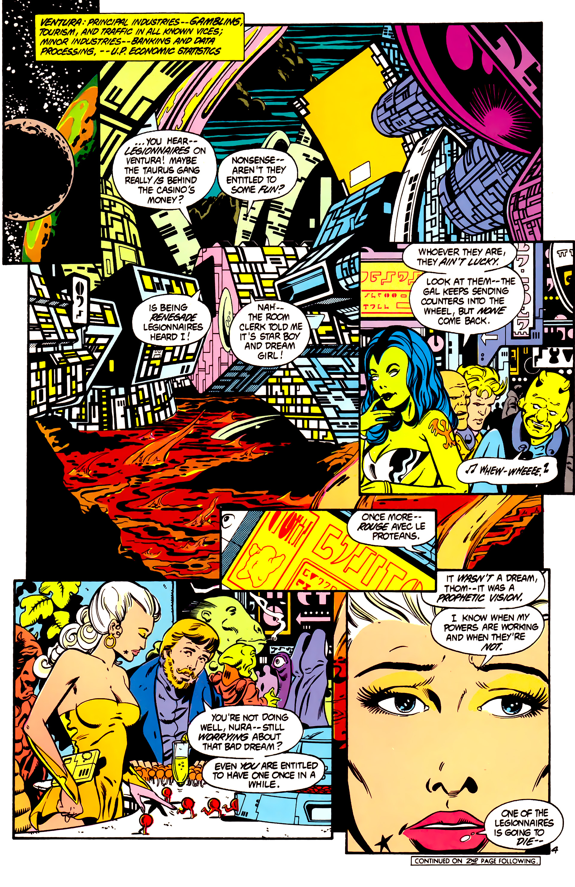 Legion of Super-Heroes (1984) 1 Page 5