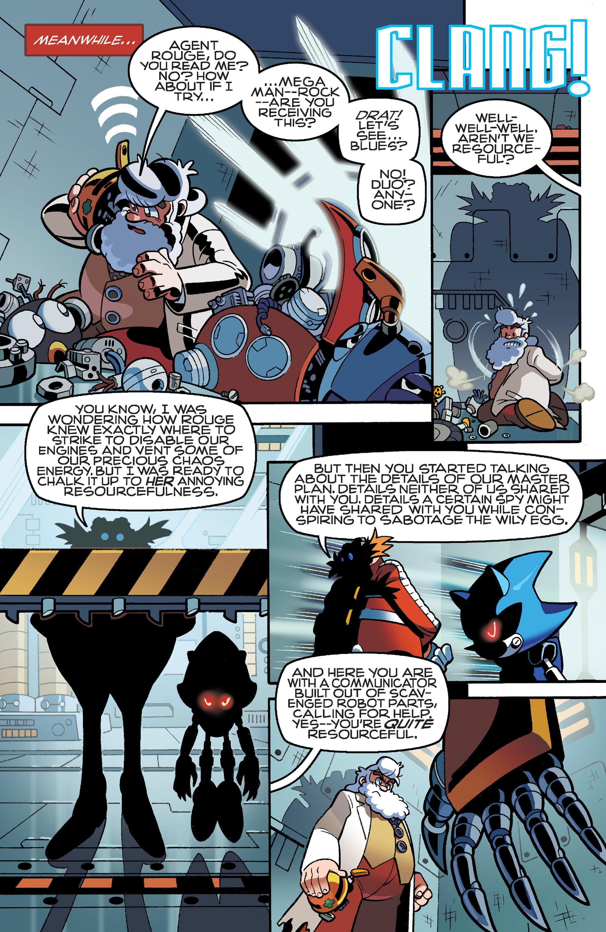 Read online Sonic Mega Man Worlds Collide comic -  Issue # Vol 3 - 28