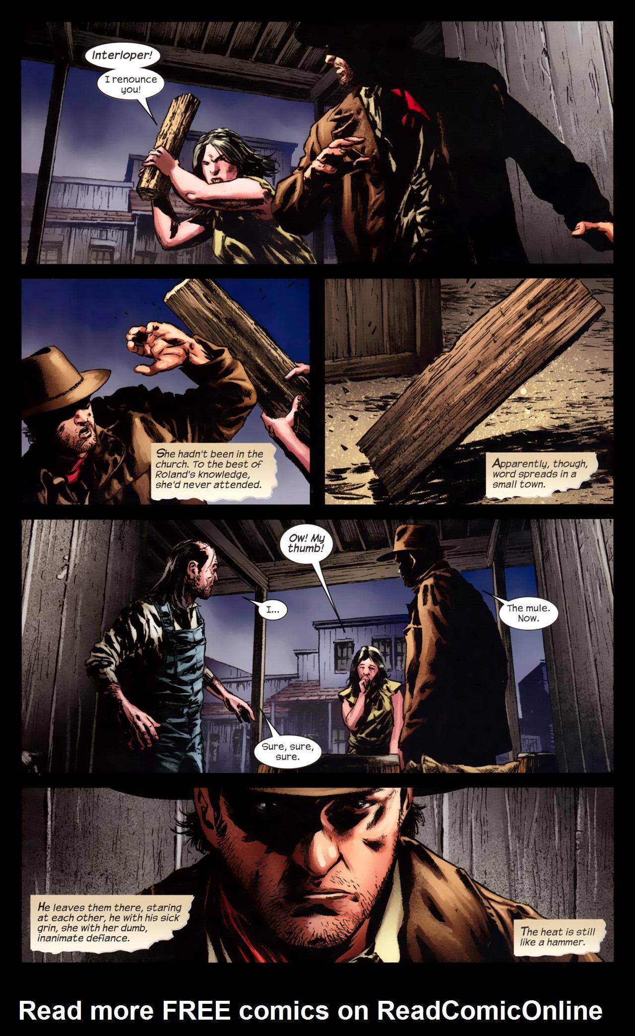 Read online Dark Tower: The Gunslinger - The Battle of Tull comic -  Issue #4 - 19